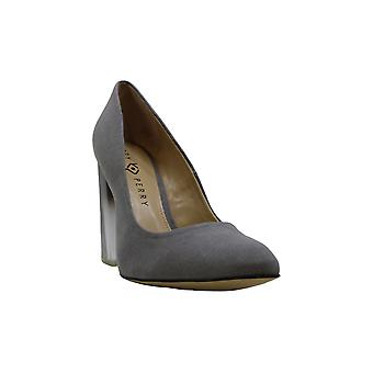 Katy Perry Women's The A.W. Black Microsuede 9 M US