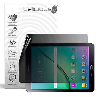 Celicious Privacy Plus 4-Way Anti-Spy Filter Screen Protector Film Compatible with Samsung Galaxy Tab S2 9.7
