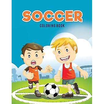 Soccer coloring Book by Kids & Coloring Pages for