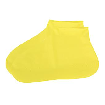 Portable long tube latex shoe cover
