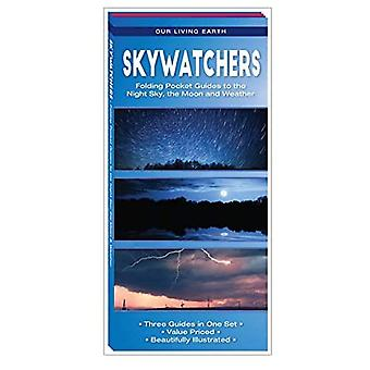 Skywatchers: Folding Pocket Guides to the Night Sky, the Moon and Weather