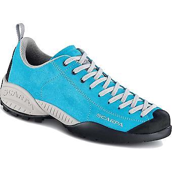 Scarpa Mojito Fluo Shoes - UK4.25 / EU37 - Azure Fluo