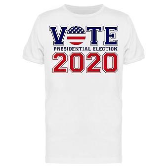 Vote 2020 Slogan Tee Men-apos;s -Image par Shutterstock