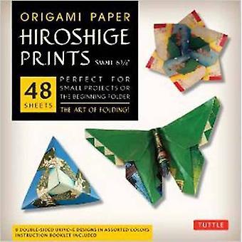 Origami papier Hiroshige prenten kleine 6 34 door bewerkt door Tuttle Publishing