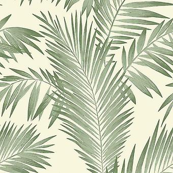 Arthouse Tropical Palm Tree Leaf Leaves Green Jungle Nature Wallpaper 906802