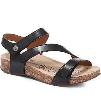 Josef Seibel Leather Strap Sandal