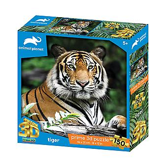 Tiger Animal Planet Prime 3D pussel 150 stycken