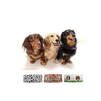 3 přenosné psí mísy