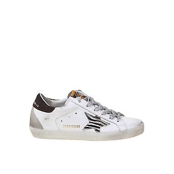Golden Goose Gwf00102f00010710208 Women's White Leather Sneakers
