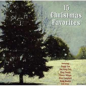 15 Christmas Favorites - 15 Christmas Favorites [CD] USA import