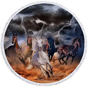 Storm Horses ranta pyyhe