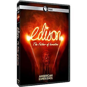 American Experience: Edison [DVD] USA import