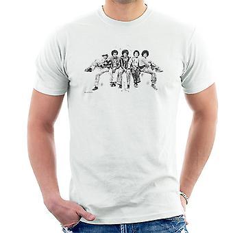 Jackson 5 på Hyde Park Corner 1977 mäns T-Shirt