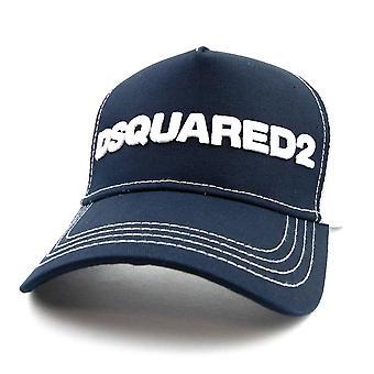 Dsquared2 Dsquared Mesh Back Cap Navy