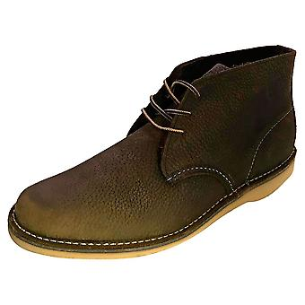 Red Wing Weekender Mens Chukka Boots in Olive Brown