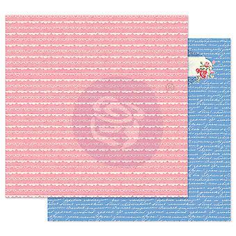 Prima markedsføring reiser jente 12x12 tommers papirpakke nydelige grenser