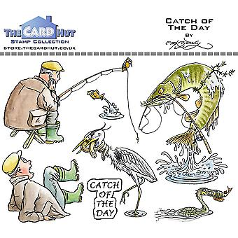 The Card Hut Catch Of The Day Clear Stamps