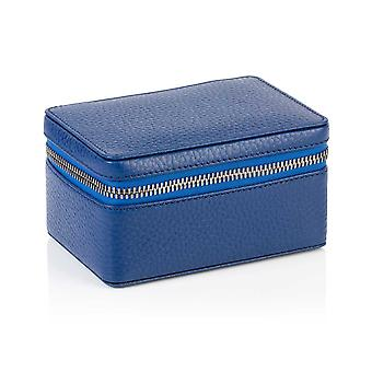 Richmond nahka trinket laatikko Sapphire Blue
