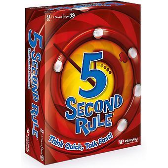 Jeu de famille Interplay UK GF006 5 Second Rule
