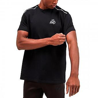 Kings Will Dream Lenham Black Reflective Stretch Jersey T-shirt