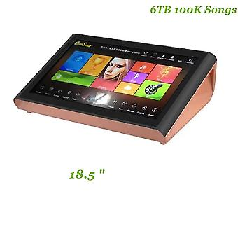 "18.5"" Android 6tb Hdd 100k Karaoke Songs Chinese Karaoke Machine With Screen"