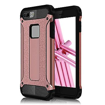 Shell for Apple iPhone 8 Plus 8+ Hard Armor Protection Pink TPU Case