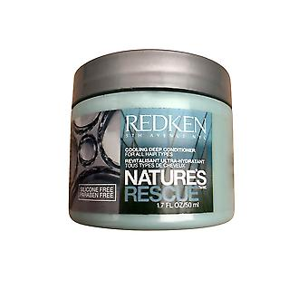 Redken Natures Rescue Cooling Deep Conditioner Travel Size 1.7 OZ