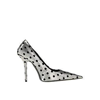 Balenciaga Ezgl006050 Damen's Silber Leder Pumps