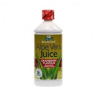 Aloe Pura - Aloe Vera Juice Cranberry 1000ml