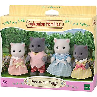 Sylvanian Familias Familia gato persa
