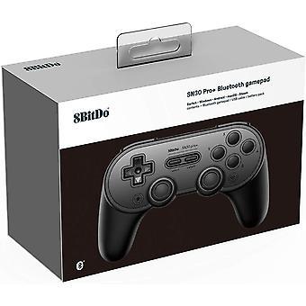 8Bitdo SN30 Pro+ Gamepad Fekete Nintendo Switch