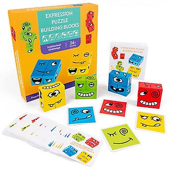 Early Learning Preschool, Teaching Intelligence Wooden Materials Puzzle Toy
