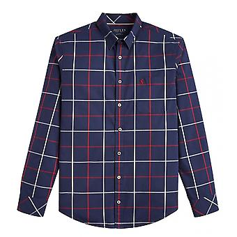 Joules Joule Welford Mens lange mouw Classic Fit Check Shirt S/S 19