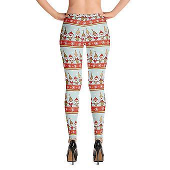 Fashion leggings | christmas series #5 | light green