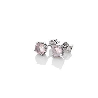 Anais Diamantes Calientes Anais Octubre Plata Pendientes de Cuarzo AE010