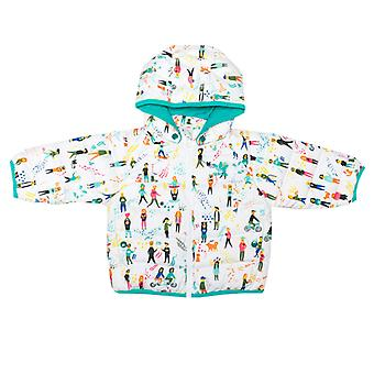 Girl's adidas Originals Babyjacke in weiß