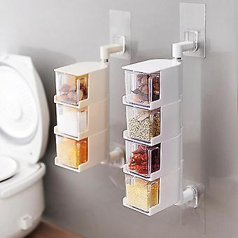 No Hole Wall Hanging Rotating Salt Release Box