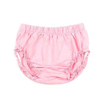 Solid Elastic Cotton Newborn Baby Bloomers Diaper Covers Soft Bubble Shorts Children Summer Sunsuit