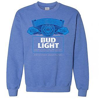 Knopp lys flaske etikett Crewneck Sweatshirt