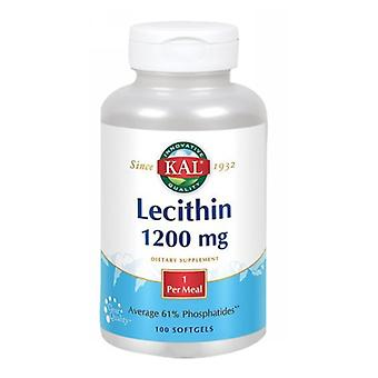 Kal Lécithine, 1 200 mg, 100 Softgels