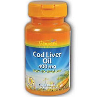 Thompson Cod Liver Oil, 800 mg, 60 softgels