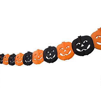Girlang with Pumpkins, Decoration - Halloween