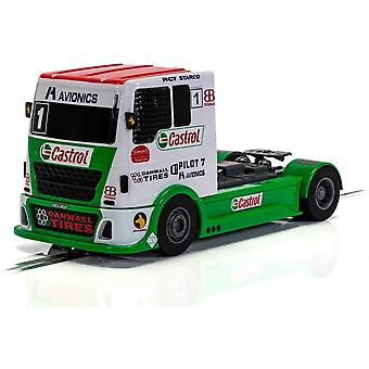 Scalextric C4156 Racing Truck - Red & Green & White