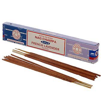 Puckator Satya Nag Champa and French Lavender Incense Sticks
