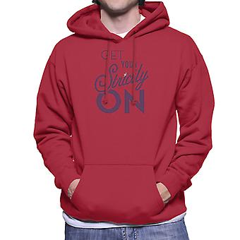Strictly Come Dancing Get Your Strictly On Metallic Print Men's Hooded Sweatshirt