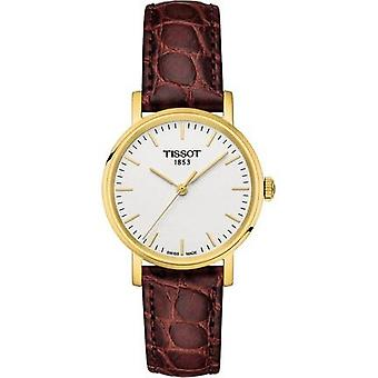 Tissot T109.210.36.031.00 Jedes Mal weißes Zifferblatt Herren's Uhr