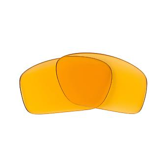 Replacement Lenses for Oakley Scalpel Sunglasses Anti-Scratch Yellow