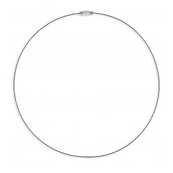 Cable Stainless Steel necklace 316l 42cm