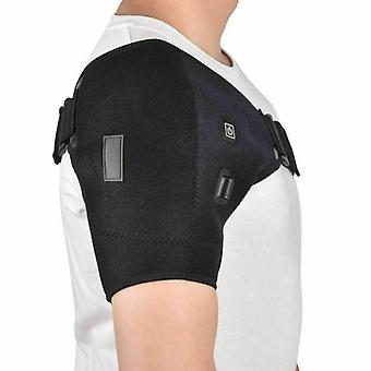 Electric Heat Therapy Adjustable Shoulder Brace, Back Support Belt
