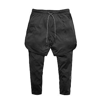 Men Shorts And Leggings-2in1 Sportswear